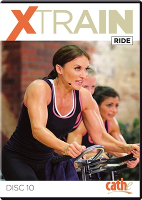 Cathe Friedrich Xtrain Ride Indoor Cycling Workout DVD
