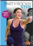 Cathe Friedrich Party Rockin' Step One aerobic step DVD