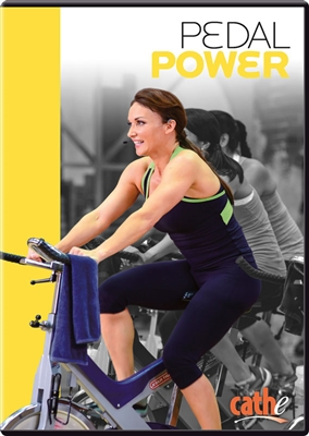 Cathe Friedrich Pedal Power Indoor Cycling Workout DVD