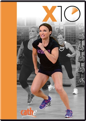 Cathe Friedrich's X10 high intensity short HIIT workouts DVD