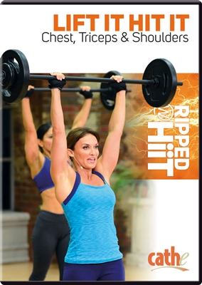 Lift it Hit it Chest, Tris,Shoulders DVD