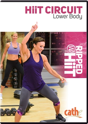 Cathe Friedrich HiiT Circuit Lower Body Workout DVD