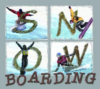 11x13 Aluminum sign that says Snow Boarding. This quality and sturdy metal poster sign is brand new, durable and made of heavy gauge aluminum that will last for many years to come. Great for hanging outside as well as inside. A great way to add some...