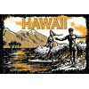 12x18 Aluminum sign that says Hawaii. This quality and sturdy metal poster sign is brand new, durable and made of heavy gauge aluminum that will last for many years to come. Great for hanging outside as well as inside. A great way to add some cool...
