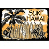 12x18 Aluminum sign that says Surf Hawaii. This quality and sturdy metal poster sign is brand new, durable and made of heavy gauge aluminum that will last for many years to come. Great for hanging outside as well as inside. A great way to add some...