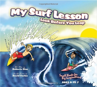 My Surf Lesson - Look Before You Leap was written to teach our young readers a simple ocean safety tip, ALWAYS RESPECT THE OCEAN. Our intention is for children to learn at an early age the importance of respecting the ocean's power. Even though the...