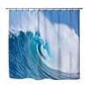 Surf decorBeach Surfer bathroom peace coolest shower curtain made in USA
