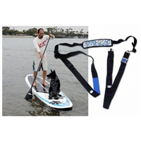 "The SUP PUP Deck and SUP Carrier gift set includes: The PUP Deck, in your choice of design: Large Paw Prints or Solid. (Please choose your design in the dropdown. If you choose ""Paw Prints"" then choose a..."