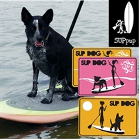 The SUP Dog Deluxe Pup Deck, Stickers & Sign Gift
