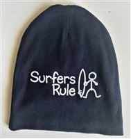 Surfer Baby infant Surfers Rule cotton Beanie hat tuk