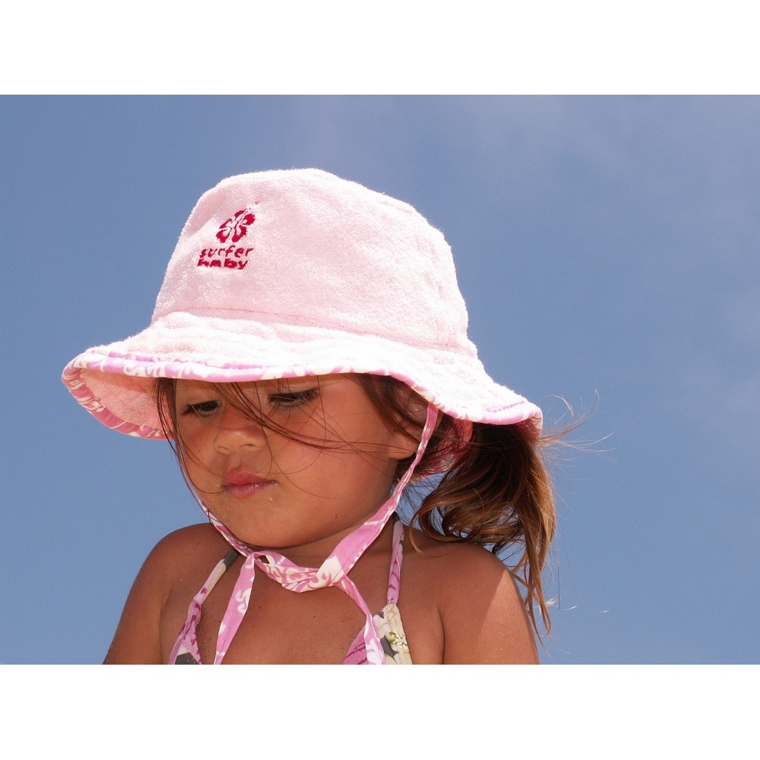 906bc18ccef Surfer Baby Cotton Terry Floppy Sun Hat
