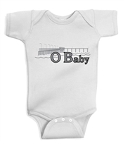 Ocean Beach OB infant baby onesie body suit