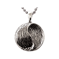 Flow Sterling Silver Surf Pendant by Strickly Boarding