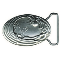 Perfection Pewter Island Surf Belt Buckle by Strickly Boarding