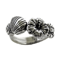 Sea Grass Sterling Silver Surf Ring by Strickly Boarding