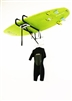 Stand up paddle board wall rack