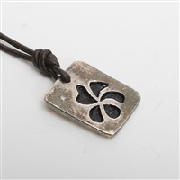 This silver plated pewter Hawaiian plumeria flower pendant is hand made from start to finish including plating in Zula Surfing's New York studio. A gorgeous piece with character to add to your collection. Proudly Made In The U.S.A. All jewelry...