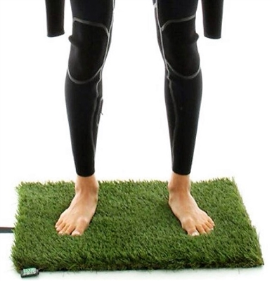 Grass Surf Beach Mat changing pad for surfers
