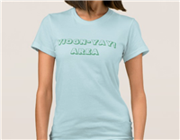 Conduit Viogn-YAY Area! Women's American Apparel Tee