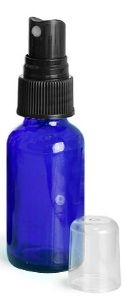 1-OZ-MISTER | Cobalt Blue Glass Bottle | Purify Skin Therapy