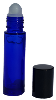 10ML-GLASSROLLER | Cobalt Blue Glass Bottle | Purify Skin Therapy