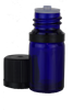 5ML-GLASSBOTTLE, Cobalt Blue Glass Bottle