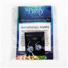 Aromatherapy Jewelry Swirl Earrings | Jewelry for Essential Oils by Purify Skin Therapy
