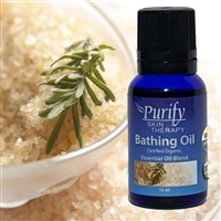 USDA Certified Organic Bathing Essential Oil | 100% Pure Premium Grade | Purify Skin Therapy