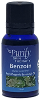 USDA Certified Organic Benzoin Essential Oil | 100% Pure Premium Grade | Purify Skin Therapy