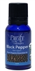 100% Pure Premium Grade, USDA Certified Organic Black Pepper Essential Oil by Purify Skin Therapy