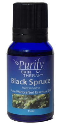 USDA Certified Organic Black Spruce Essential Oil | 100% Pure Premium Grade | Purify Skin Therapy