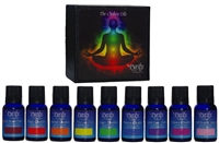 Chakra Essential Oil Blends | 100% pure, certified organic & wildcrafted essential oils | Root chakra, Sacral chakra, solar plexus, heart chakra, throat chakra, third eye, crown | Purify Skin Therapy