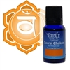 Sacral Chakra Essential Oil Blend | Certified Pure Organic Essential Oil Blend | Purify Skin Therapy