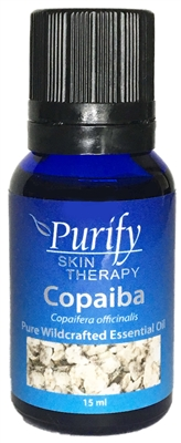 100% pure wildcrafted Copaiba Essential Oil | 100% Pure Premium Grade | Purify Skin Therapy