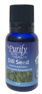 100% Pure Premium Grade, USDA Certified Organic Dill Seed Essential Oil by Purify Skin Therapy