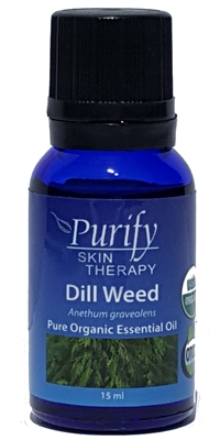 100% Pure Premium Grade, USDA Certified Organic Dill Weed Essential Oil by Purify Skin Therapy