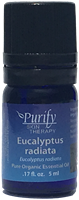 Certified Pure Premium Grade Eucalyptus Radiata Essential Oil | USDA Certified | Purify Skin Therapy