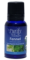 Certified Organic & Wildcrafted Premium Fennel Essential Oil | USDA Certified | Purify Skin Therapy
