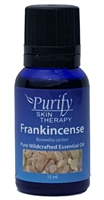 Certified Pure Organic & Wildcrafted Frankincense Essential Oil | Purify Skin Therapy