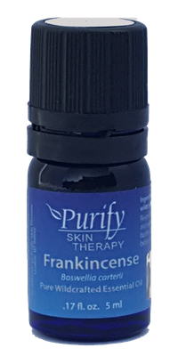 Certified Pure Organic & Wildcrafted Premium Frankincense Essential Oil | Purify Skin Therapy