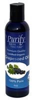 Certified Organic & Wildcrafted Premium Grapeseed Oil | USDA Certified | Purify Skin Therapy