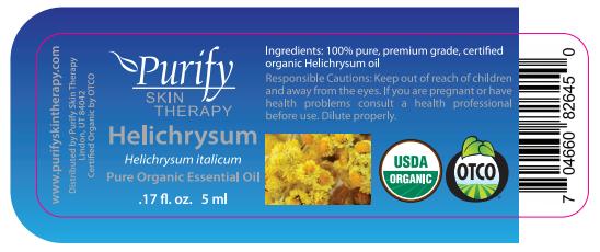 Helichrysum, 100% Pure Premium Grade, Certified Organic Essential Oil from  Corsica, 5 ml