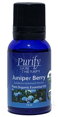 Certified Organic & Wildcrafted Premium Juniper Berry Essential Oil | Purify Skin Therapy