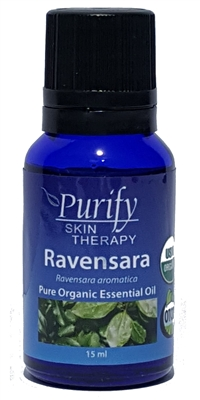 Certified Organic & Wildcrafted Premium Ravensara Essential Oil | Purify Skin Therapy