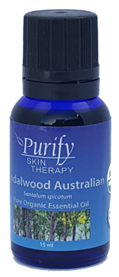 100% Pure Premium Grade, Wildcrafted Sandalwood Essential Oil by Purify Skin Therapy