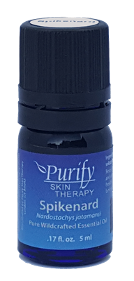 100% Pure Premium Grade, Wildcrafted Spikenard Essential Oil by Purify Skin Therapy