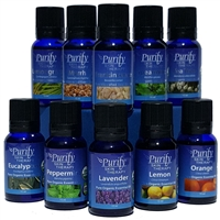 Top 10 Essential Oils Pack WITH MANUAL ~ 100% Pure Premium Grade Essential Oils  ~ 15ml, LTTS1015ML