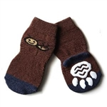 Big Dog Socks Brown Bee