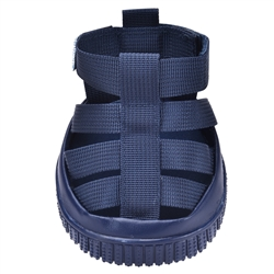 dog sandals denim