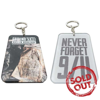 "Gary Suson ""The Ground Zero Bible Keychain"""